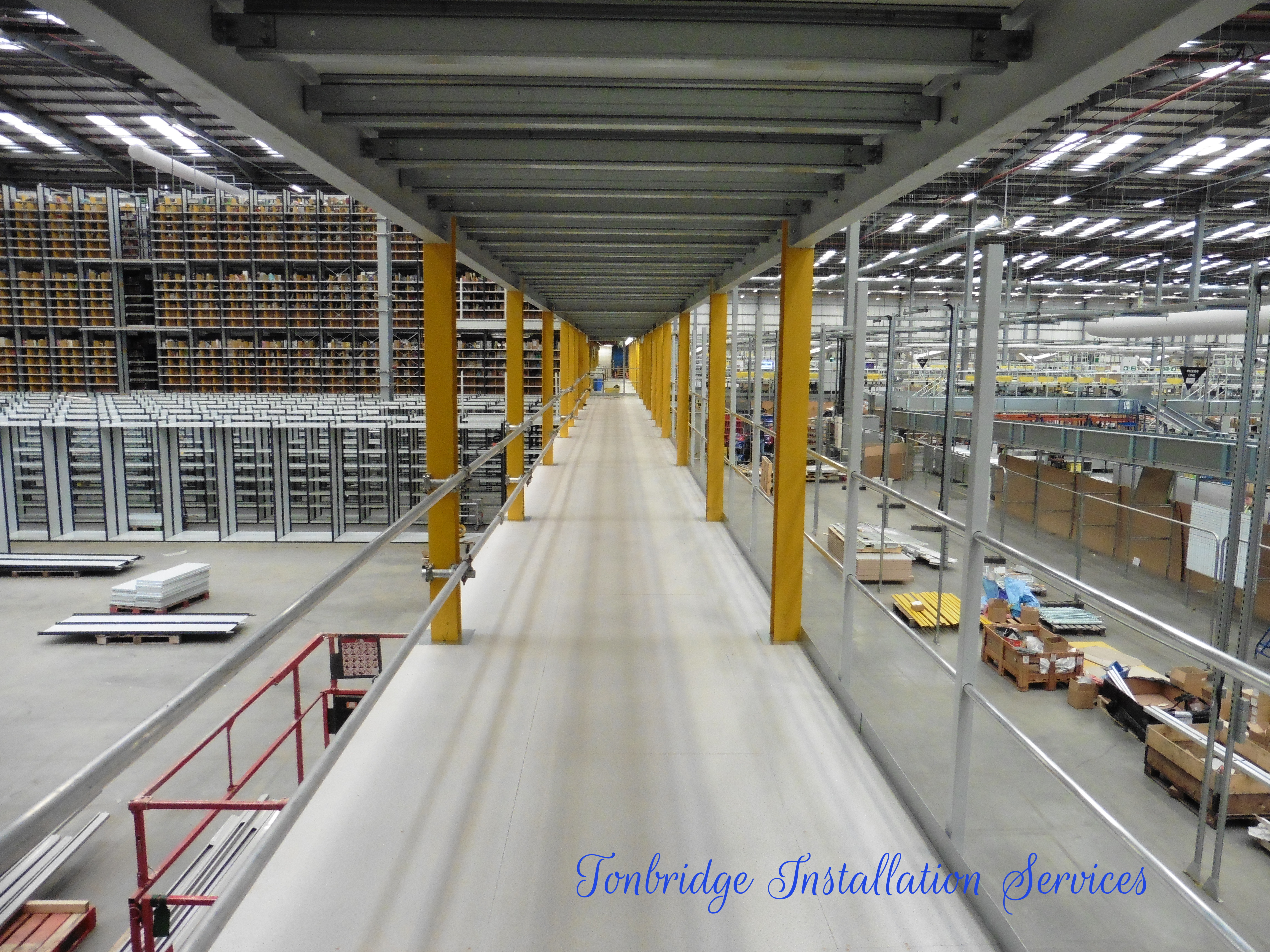 Racking Installation Mezzanine Floors - Tonbridge Installation Services