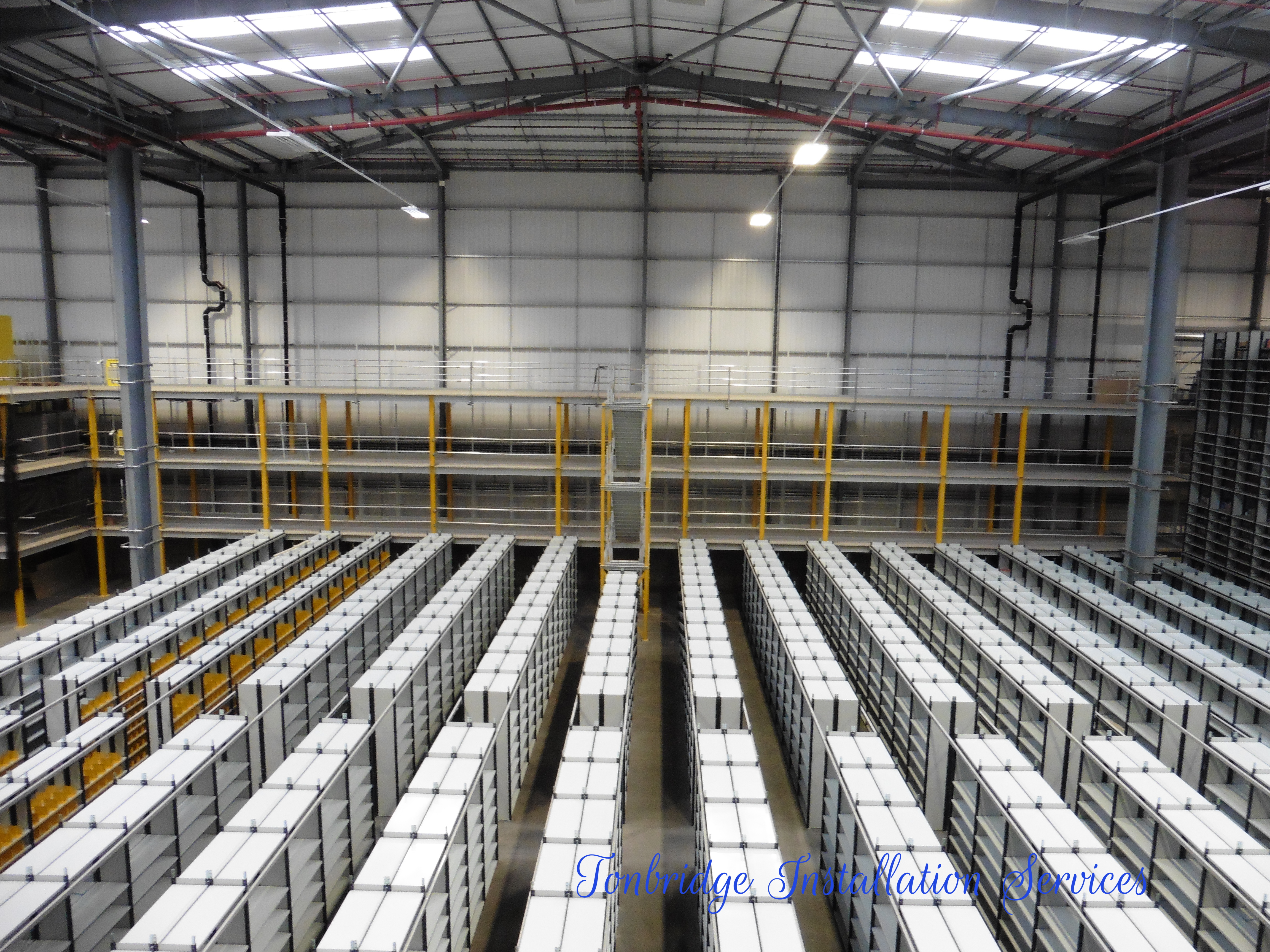Mezzanine Floors Racking Installation Mezzanine Floor - Tonbridge Installation Services