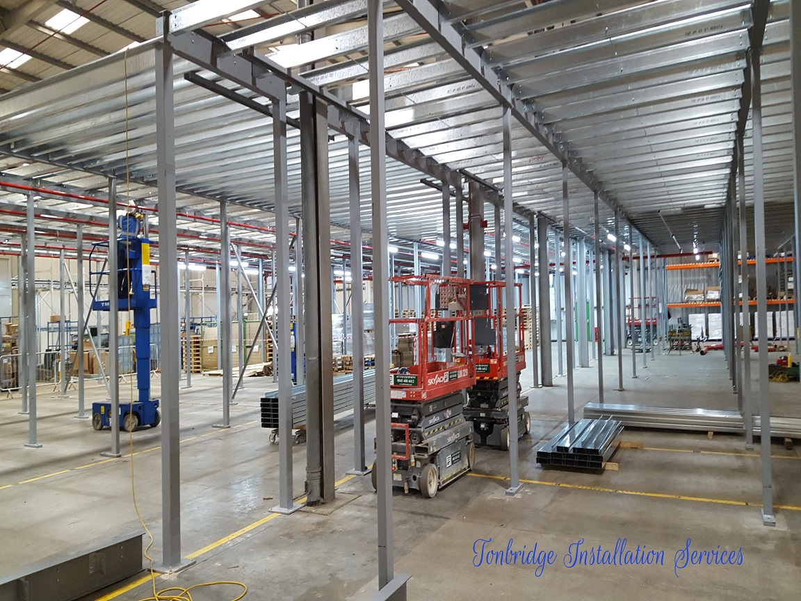 Mezzanine Floors, Racking Installation Mezzanine Floors - Tonbridge Installation Services