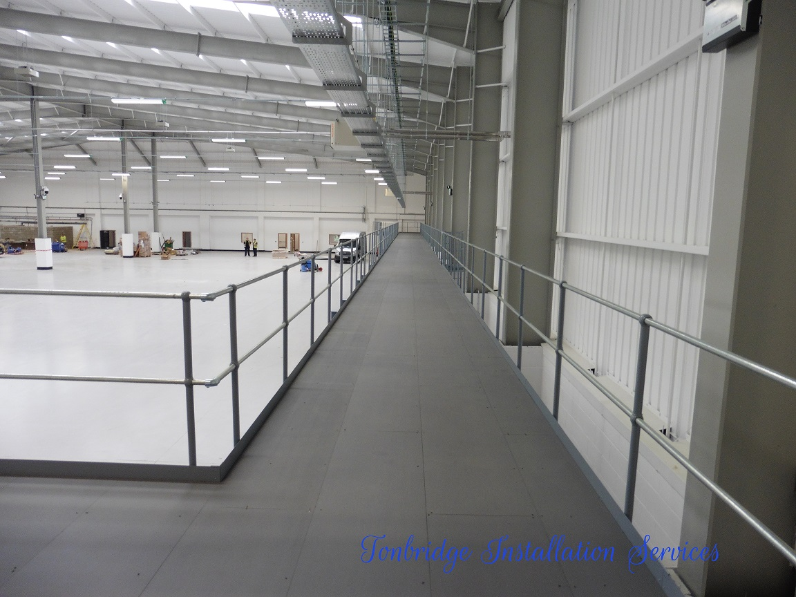 Mezzanine Floors, Racking Installation Mezzanine Floor - Tonbridge Installation Services