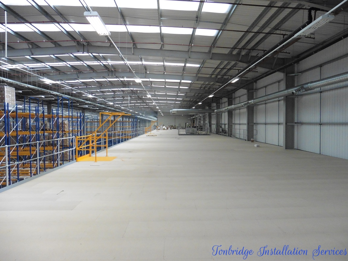 Mezzanine Floors Services : Tonbridge installation services home